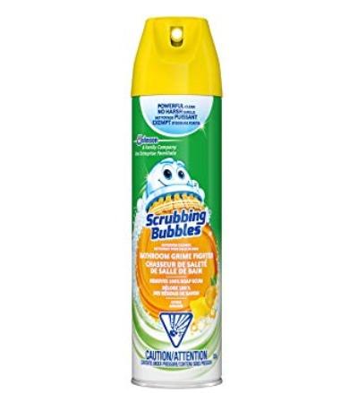 Scrubbing Bubbles 浴室清洁泡沫 2.79加元,原价 3.78加元