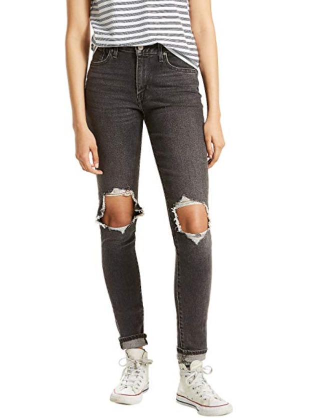 Levi's 李维斯 721高腰破洞牛仔裤 27.84加元起,原价 99.97加元