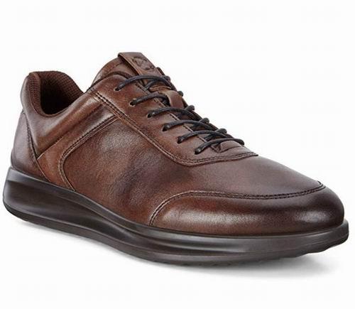 ECCO 爱步 Aquet  Fashion 男士真皮休闲鞋 87.07加元(11-11.5码),原价 200加元,包邮