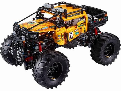 新品:LEGO 乐高 42099 首款手机app遥控 4x4极限越野车 299.99加元热卖!
