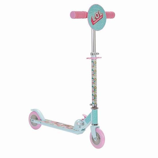 历史新低!L.O.L. Surprise! 惊喜宝贝 649257 儿童滑板车6折 35.97加元包邮!