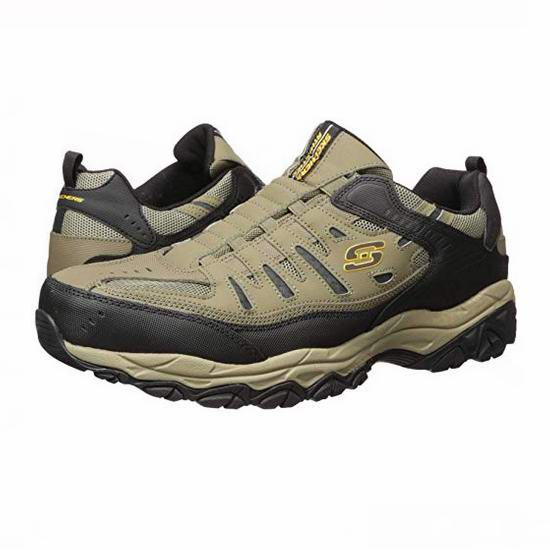 Skechers 斯凯奇 Afterburn M. Fit 男式运动鞋(7.5码/40码)3.3折 29.67加元!