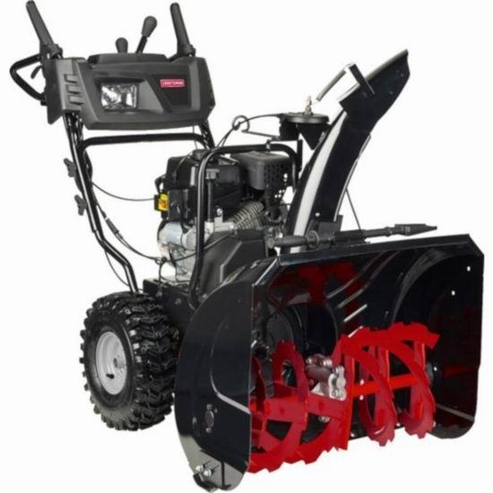 逆季清仓!CRAFTSMAN 250cc 27英寸双阶汽油铲雪机5.1折 719.2加元!