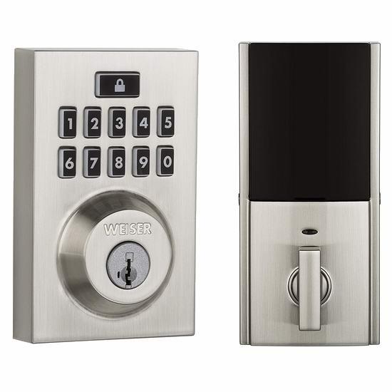 必抢白菜!历史新低!Weiser SmartCode 10 电子密码门锁3.7折 69.6加元包邮!