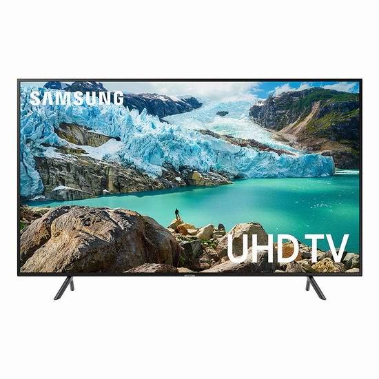 历史最低价!Samsung 三星 RU7100 50英寸 4K超高清智能电视 497.99加元包邮!