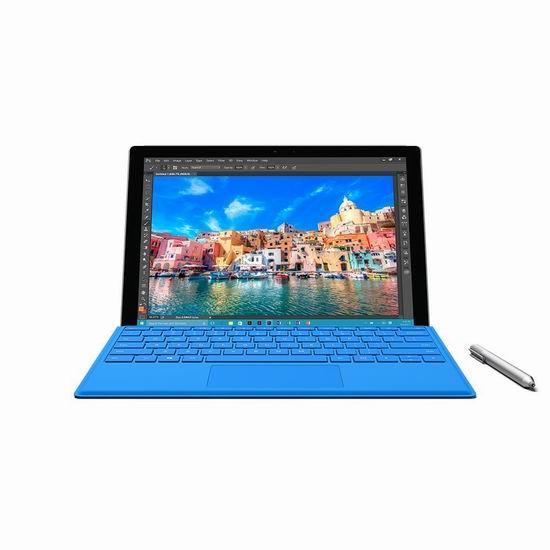 金盒头条:Microsoft 微软 Surface Pro 4 i5(256 GB/8GB)12.3英寸平板笔记本电脑 1499加元包邮!