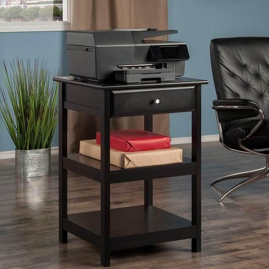 历史新低!Winsome Wood Delta 三层边桌/打印机桌4.4折 56.9加元包邮!