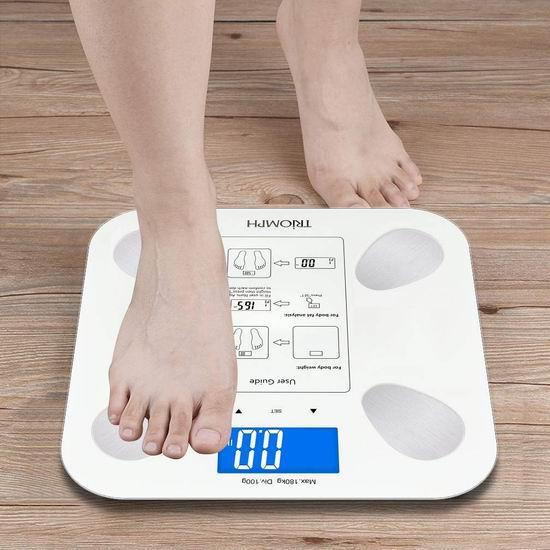 Triomph 高精度智能体重秤/体脂秤 23.97加元!