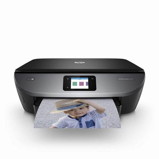 金盒头条:历史新低!HP 惠普 Envy Photo 7120 无线多功能一体式彩色喷墨打印机 69.99加元包邮!