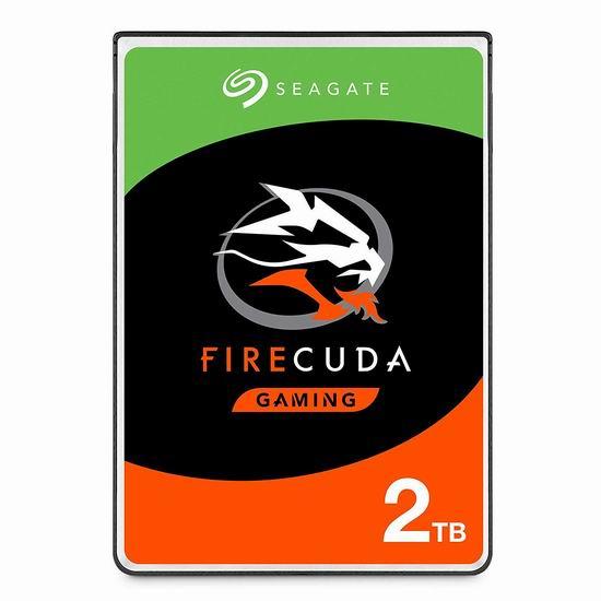 历史最低价!Seagate 希捷 FireCuda 2TB SSHD 固态混合型硬盘 79.99加元包邮!