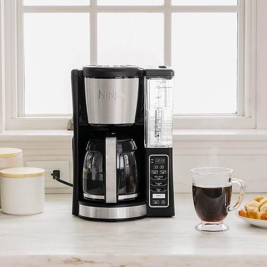 历史新低!Ninja CE201 12杯量可编程咖啡机4.8折 69.99加元包邮!
