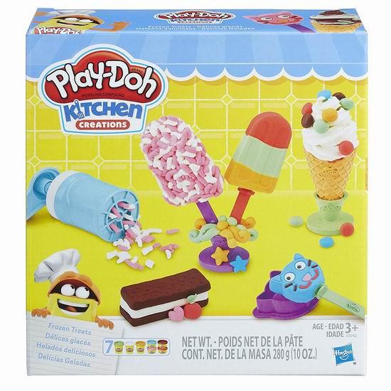 Play-Doh 培乐多 E0042 Kitchen Creations 冰淇淋 橡皮彩泥套装5.5折 9.98加元!