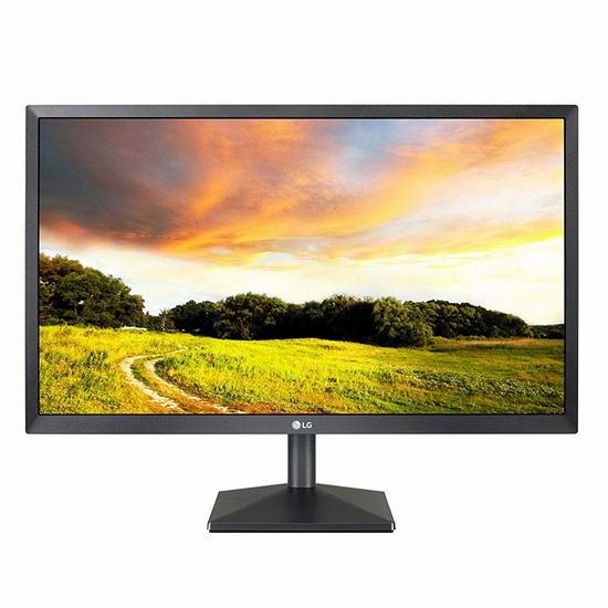 LG Electronics 24BK400H-B 24英寸高清显示器 136.5加元包邮!
