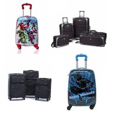 白菜价!精选多款拉杆行李箱套装、拉杆书包、手袋等限时清仓,低至15加元!