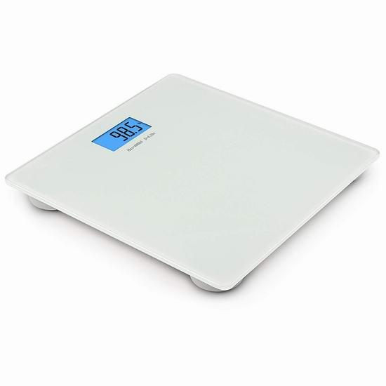 历史新低!BalanceFrom 高精度数字电子体重秤 12.97加元!