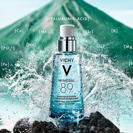 Vichy 薇姿赋能89号微精华露 /火山能量瓶(75ml)7.5折,购2瓶变相6.6折+送雅顿维C胶囊7粒!