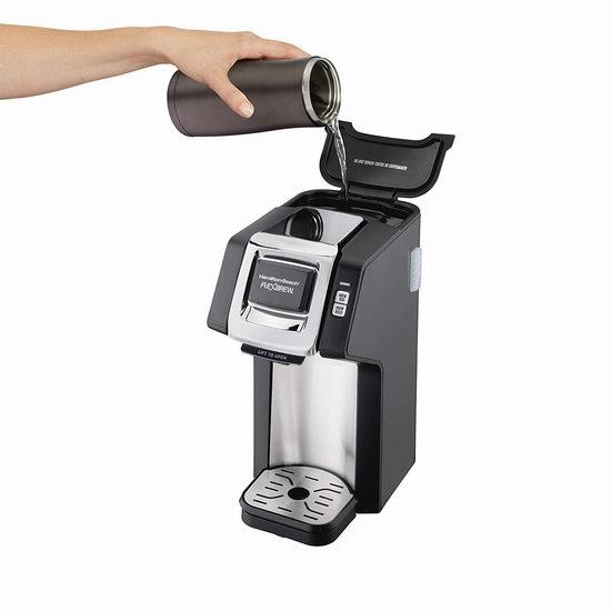 历史最低价!Hamilton Beach 49979C FlexBrew 单杯咖啡机4.4折 39.99加元包邮!