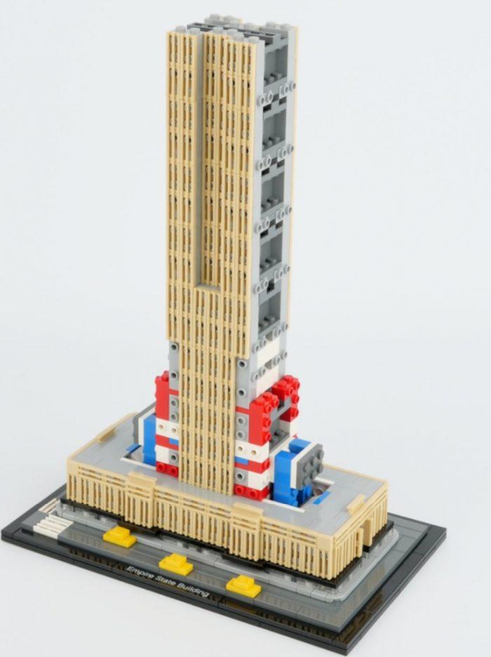 新款 Lego 乐高 21046 建筑热门系列帝国大厦 159.99加元热卖+包邮!