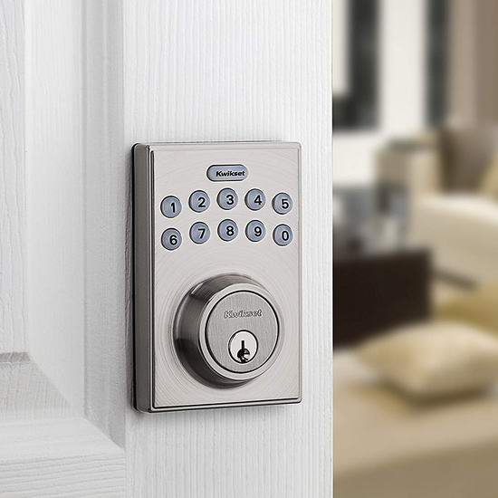 Kwikset 92640-001 电子密码门锁 61.95加元包邮!