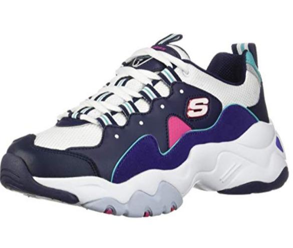 Skechers D'Lites 3.0女士运动鞋 43.97加元(6.5码),原价 102.38加元,包邮