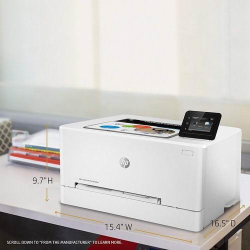 史低价!HP惠普 LaserJet Pro M254dw 彩色打印机 199.99加元,原价 356.28加元,包邮
