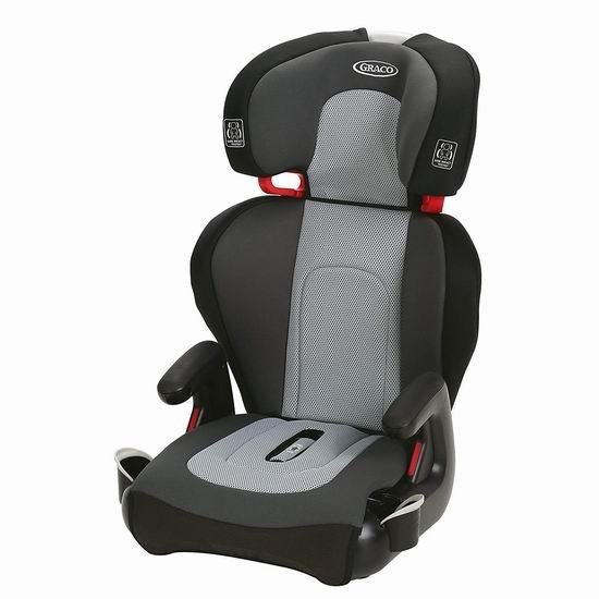 历史新低!Graco TurboBooster TakeAlong 儿童汽车安全座椅4.4折 79.95加元包邮!