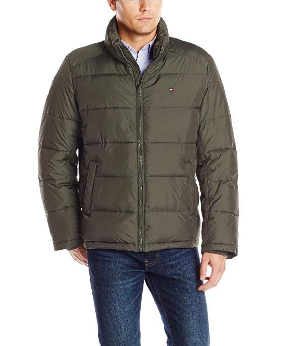 Tommy Hilfiger 男士经典防寒服 52.4加元(S码),原价 193.04加元,包邮