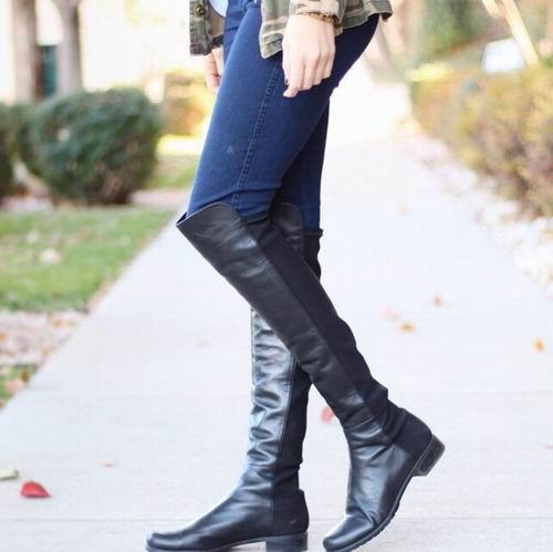 Stuart Weitzman 5050 女士过膝靴 238.32加元(10.5码),原价 851.5加元,包邮