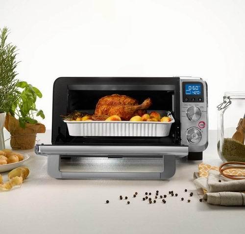 历史最低价!Delonghi 德龙 EO141040S Livenza紧凑型不锈钢烤箱 149.99加元包邮!