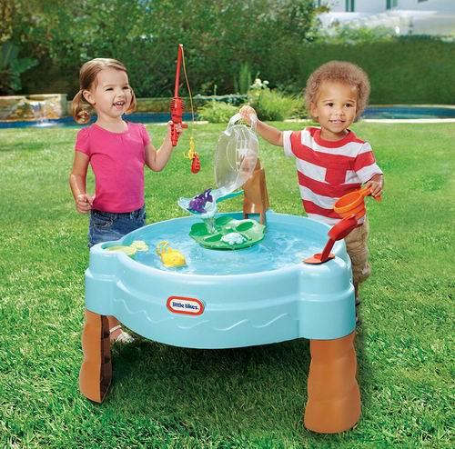 历史新低!Little Tikes 小泰克 Fish 'n 儿童海洋垂钓戏水桌 36.98加元包邮!