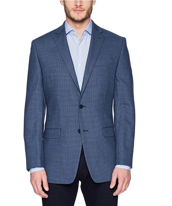 Calvin Klein Malik男士羊毛西装 70.7加元起(40 Long),原价 163.9加元,包邮