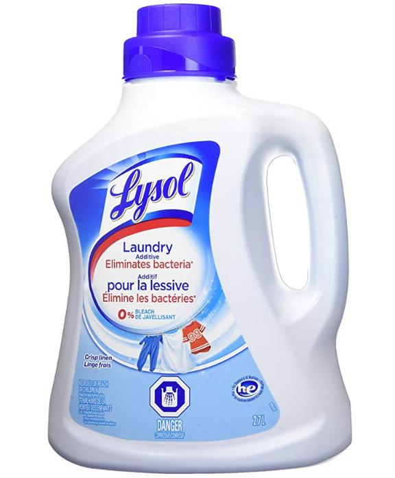 Lysol 不含漂白剂 衣物消毒液 2.7升 8.97加元