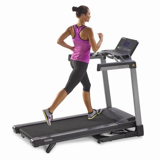 历史新低!LifeSpan Fitness TR2000e 家用跑步机4.3折 767.85加元包邮!