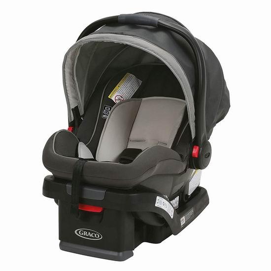历史新低!Graco 葛莱 SnugRide SnugLock 35 婴儿汽车安全提篮5.7折 159.99加元包邮!