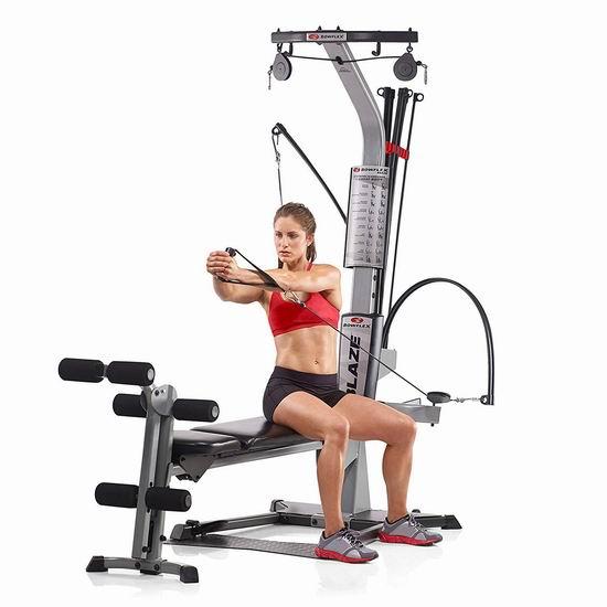 历史新低!Bowflex Blaze 多功能家用健身器5.2折 674加元包邮!