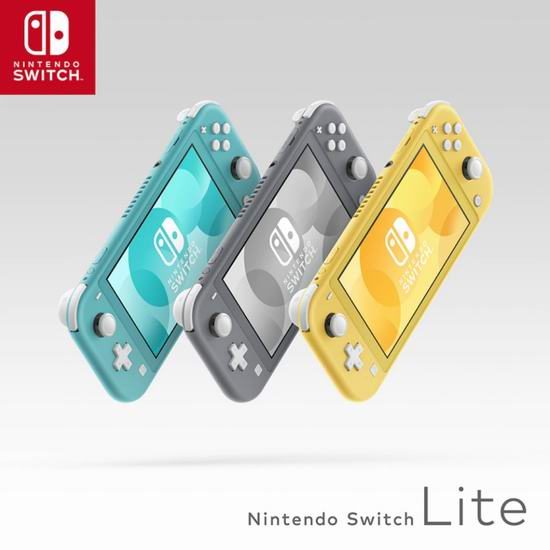 Nintendo 任天堂 Switch Lite 便携式掌上游戏机 259.99加元包邮!2色可选!