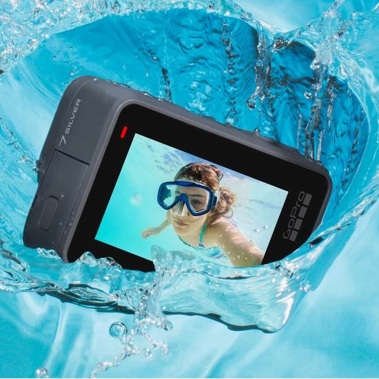 GoPro HERO7 Silver 4K超高清 防水运动摄像机 269.99加元包邮!