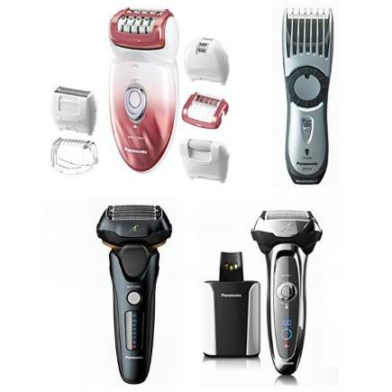 金盒头条:精选多款 Panasonic 松下 电动剃须刀、美体脱毛刀、电动理发器等7.4折起!低至39.99加元!
