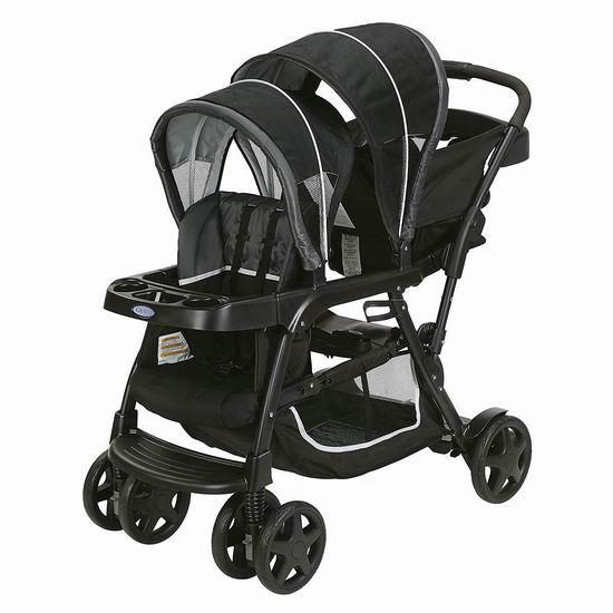 历史新低!Graco 葛莱 Ready2Grow Click Connect 双人婴儿推车 279.95加元包邮!