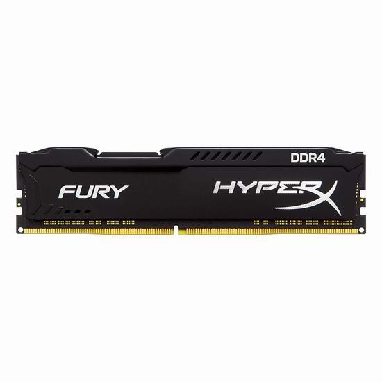 历史新低!Kingston 金士顿 HX434C19FB/16 HyperX Fury 16GB DDR4 台式机内存条/骇客神条2.9折 89.14加元包邮!
