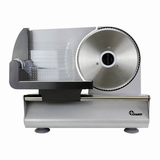历史新低!CHARD FSOP-150 150瓦7.5英寸不锈钢切片机 81.74加元包邮!火锅切肉片必备!