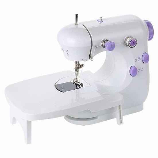 手慢无!EMAGIE 多功能迷你电动缝纫机 23.99加元限量特卖并包邮!