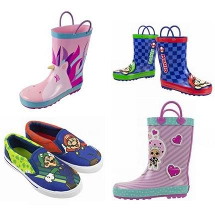 金盒头条:精选多款惊喜娃娃、超级玛丽儿童雨靴、网球鞋等6折起!