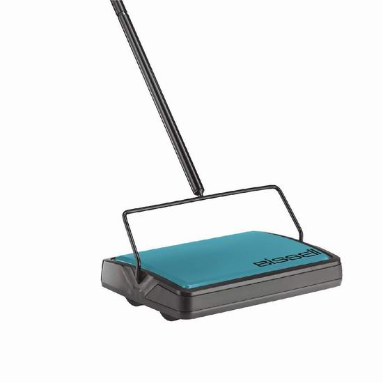 历史新低!Bissell 必胜 2484C Easysweep 地板/地毯 无绳手动扫地机5.4折 19.99加元!