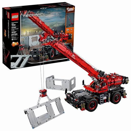 补货!LEGO 乐高 42082 机械组 复杂地形起重机(4057 pcs)7.4折 258.99加元包邮!