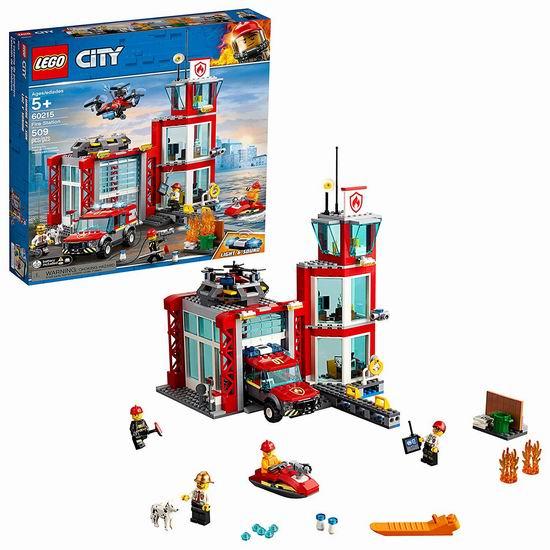 LEGO 乐高 60215 城市系列 消防局(509pcs) 76.49加元包邮!