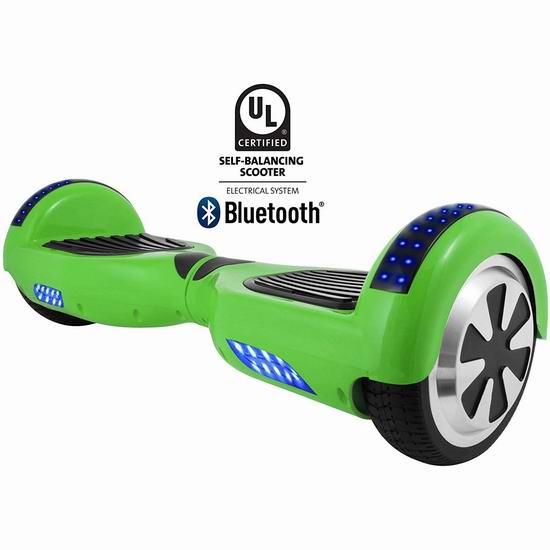 HOVERBIRD HBRGI1 蓝牙版电动双轮平衡车3.6折 192.42加元包邮!