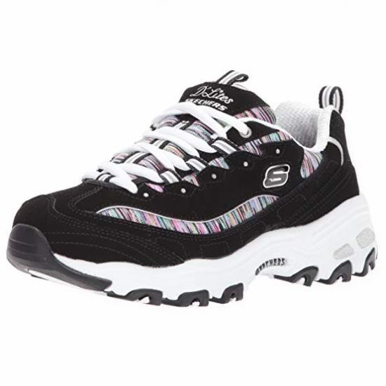 折扣升级!Skechers D'Lites 女士熊猫鞋 40加元包邮!码齐!