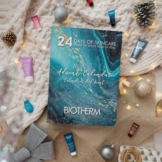Biotherm 碧欧泉节礼周大促! 全场8折,入奇迹水、圣诞倒数日历!大量圣诞超值装上线!