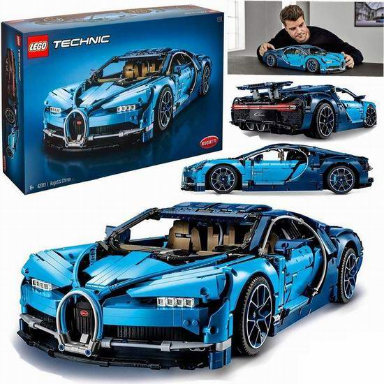 LEGO 乐高 42083 Bugatti Chiron 豪华超级跑车(3599pcs)399加元包邮!